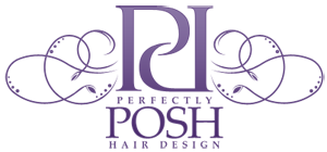 Perfectly Post Hair Logo
