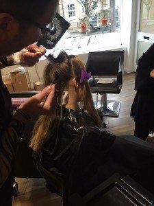 balayage hair colour, hungerford salon