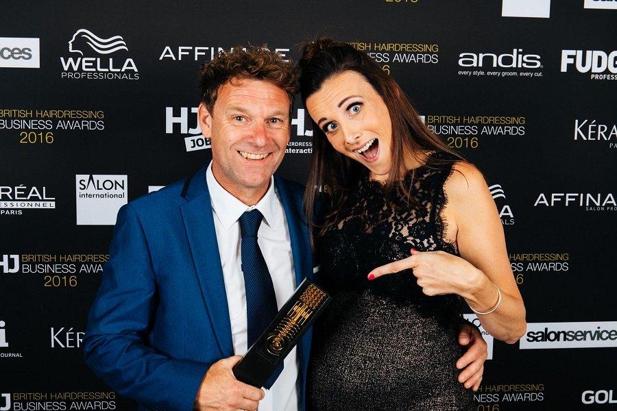 hungerford hair salon wins salon of the year award