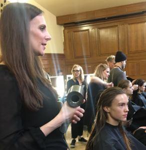 Krysia Eddery at London Fashion Week