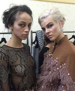 models styled by krysia eddery from perfectly posh hair salon in hungerford