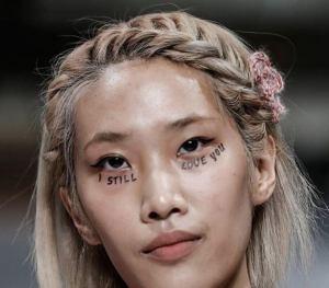 perfectly posh hairdresser at London Fashion Week