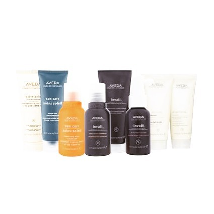 Aveda travel sizes at Spoil Me Hair Salon in Inverurie