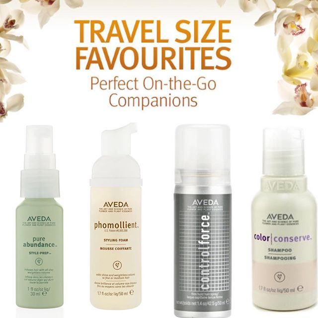 Travel-Sized Hair Products