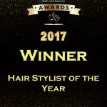The British Hairdressing Awards stylist of the year 2017 at Perfectly Posh hair salon in Hungerford