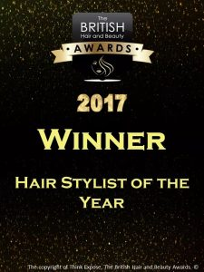 British Hair & Beauty Salon Of The Year 2017!