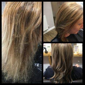 Olaplex at Perfectly Posh hair salon