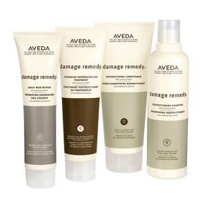 Damage-Remedyaveda haircare at perfectly posh hair salon