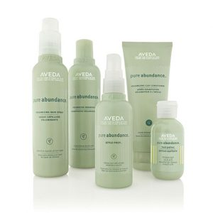 Aveda Pure-Abundance hair products at perfectly posh hair salon
