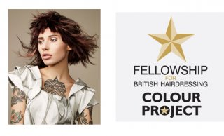 Salon Owner Krysia Makes The British Hairdressing Colour Project Team 2018!