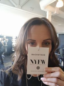 Perfectly Posh hair salon hungerford at New York Fashion Week