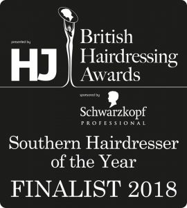 2018 british hairdresser of the year finalist at perfectly posh hair salon hungerford
