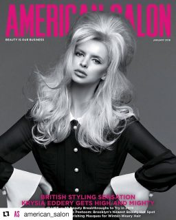 Salon Owner Krysia Features on The Cover of American Salon Magazine!
