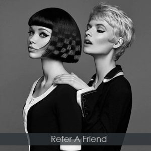 refer-a-friend at perfectly posh hair and beauty salon in hungerford