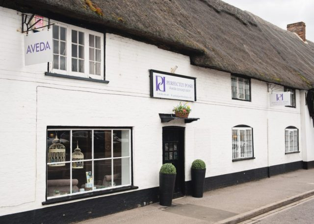 perfectly posh hair and beauty salon in hungerford