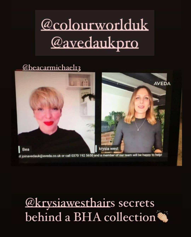 Salon Owner Krysia Features On Colour World TV