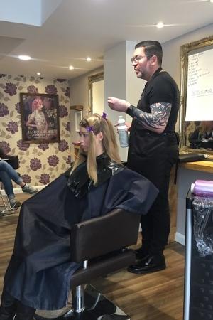 hair colour training, hungerford salon