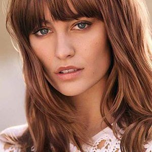 brunette-with-red-tones The Trend for Natural-Looking Hair Colours at Perfectly Posh Hairdressers, Marlborough